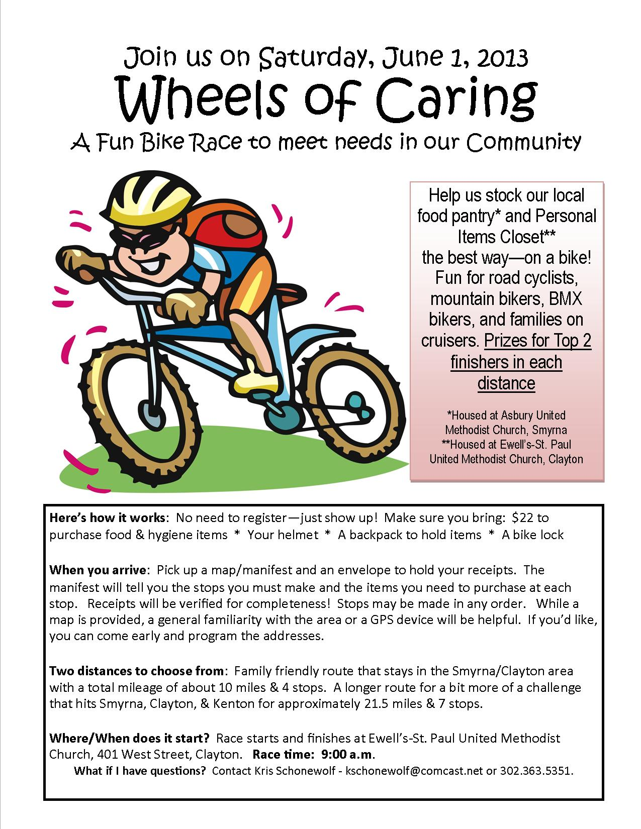 Wheels of Caring