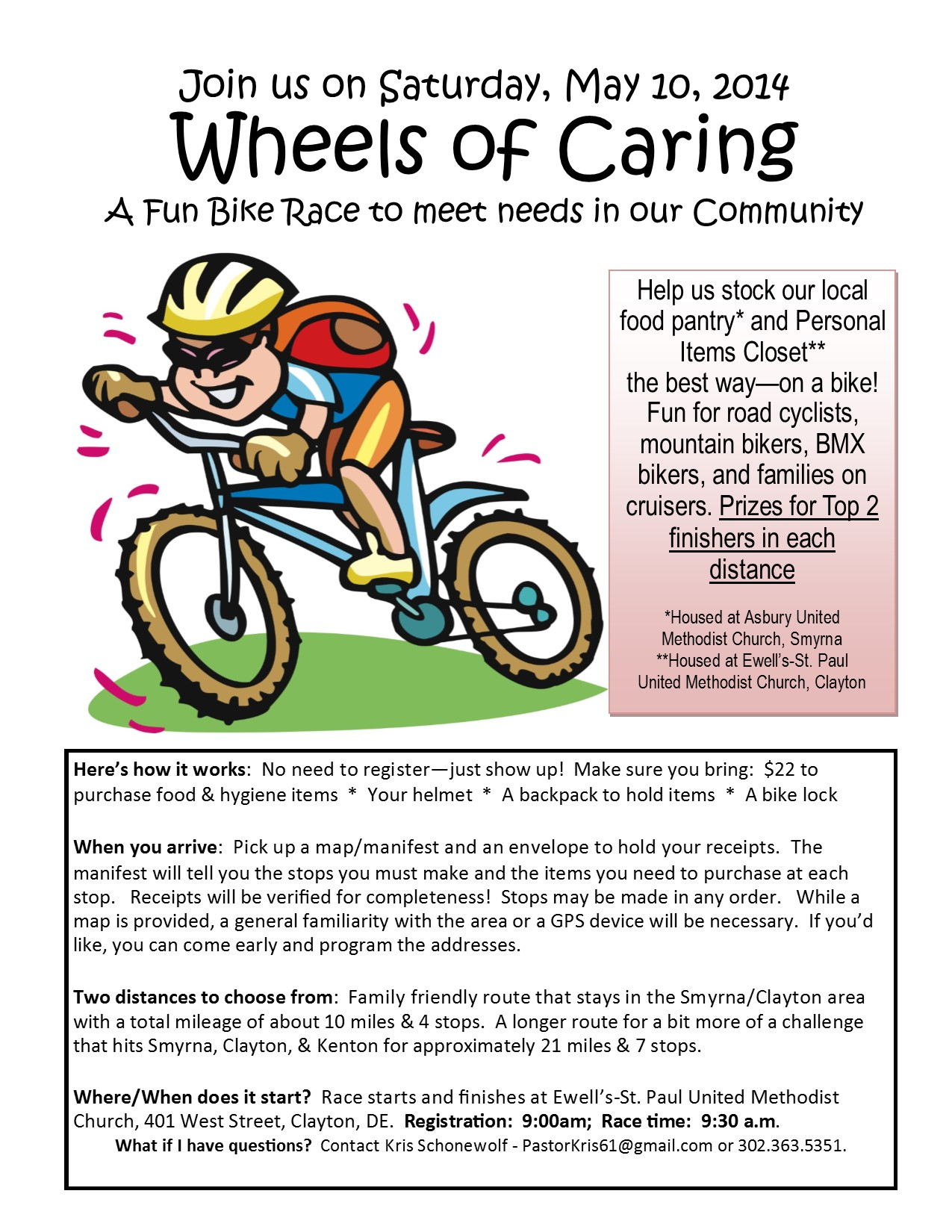 Wheels of Caring 2014